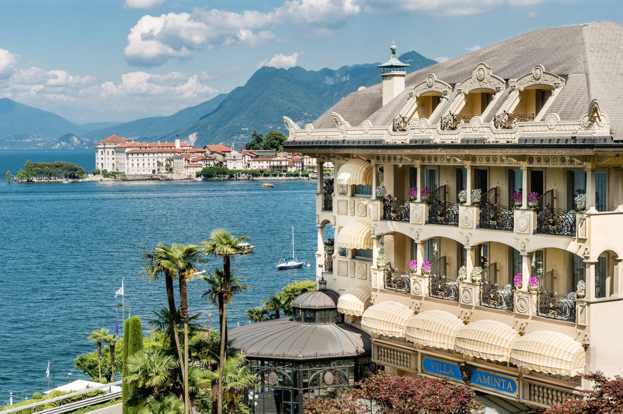 Villa Aminta in Lake Maggiore, Italy