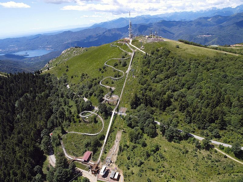 Monte Mottarone for a panoramic view of the Italian Alps