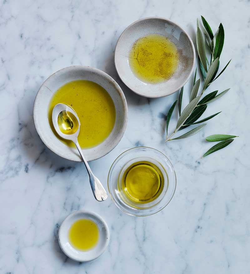 Locally produced olive oil