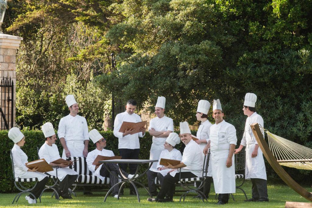 Chef & staff