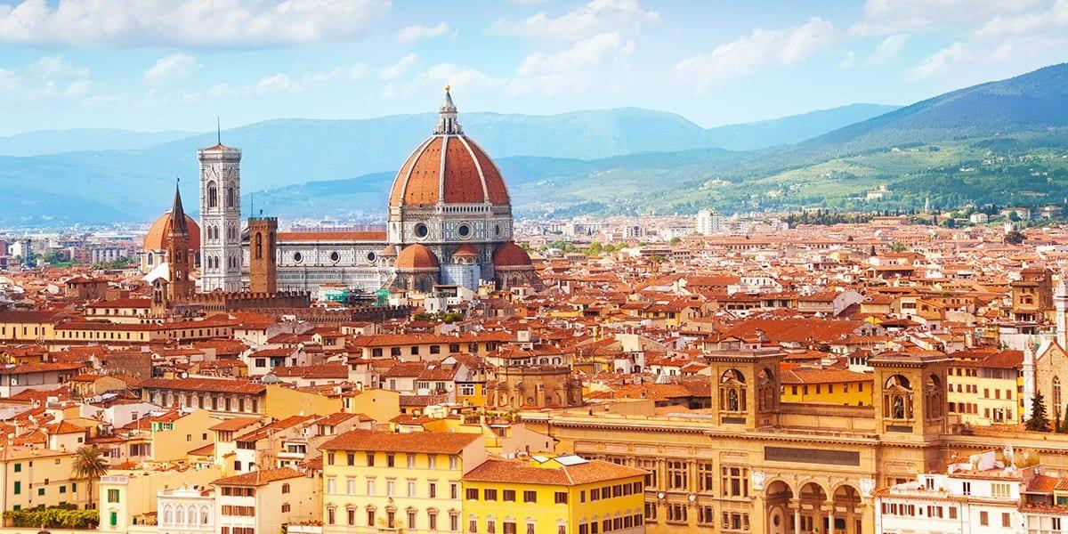 Florence -  30 minute drive via complimentary shuttle