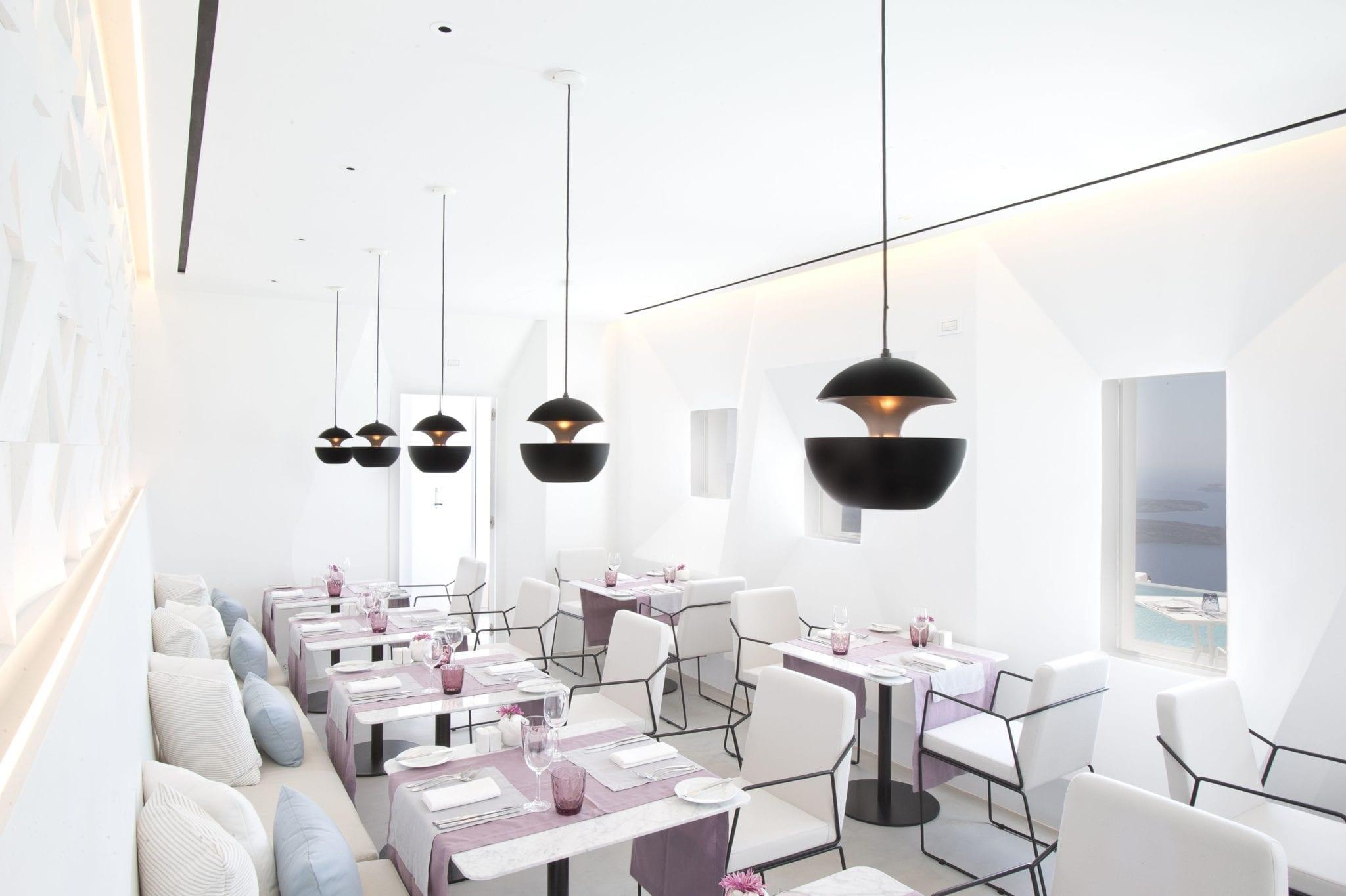 Santoro Restaurant- interior