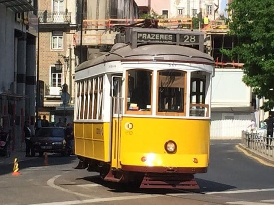 Take a ride on the tram