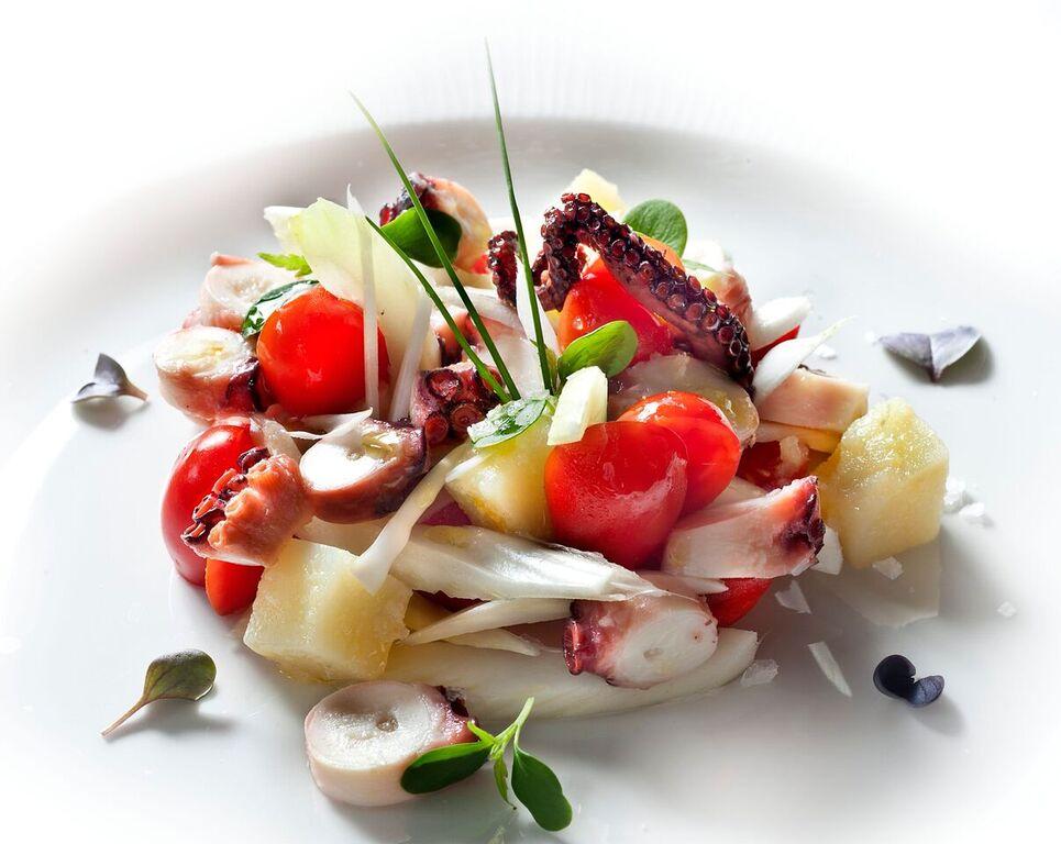 Michelin Starred wedding reception dishes