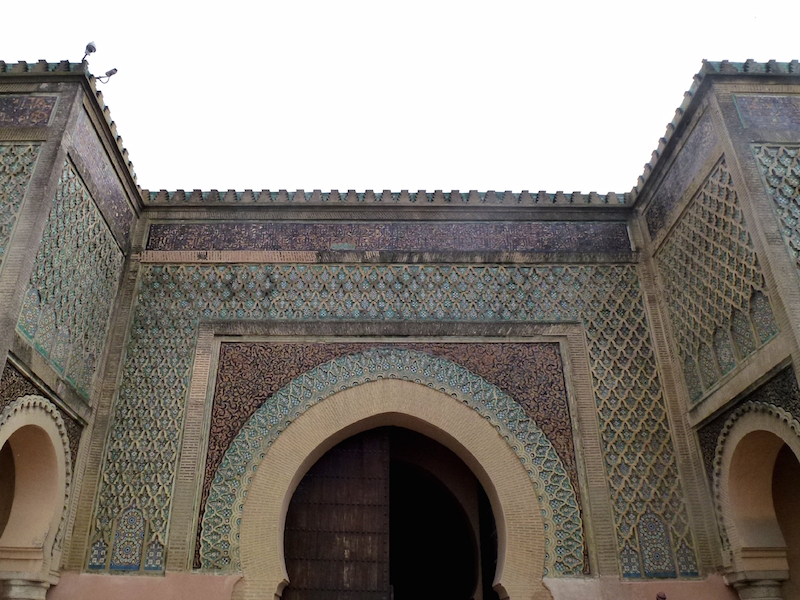 18th century gate of Bab Mansour in Morocco