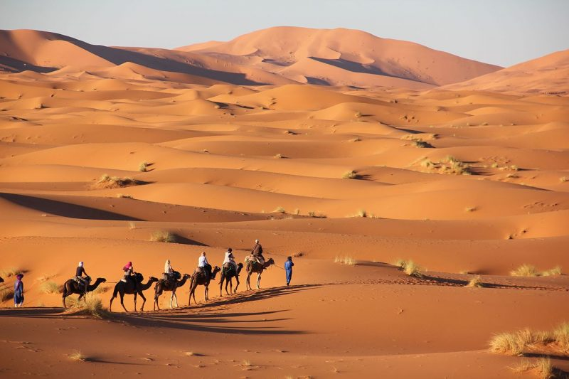 Merzouga in Morocco