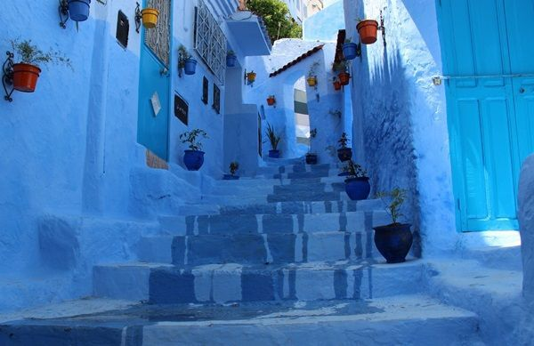 The Blue City Chefchaouen in Morocco