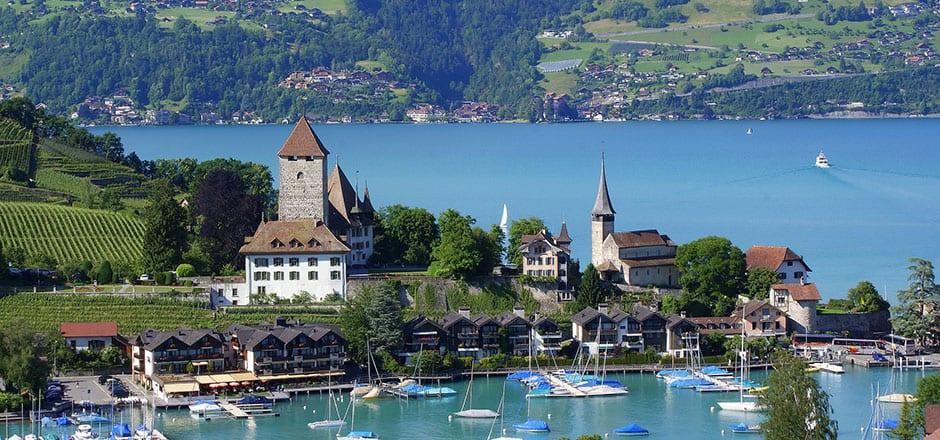 Boating on Interlaken Lake