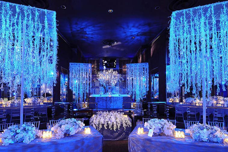 Hanukkah Themed Wedding