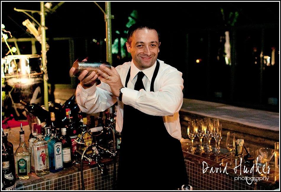Friendly bartender