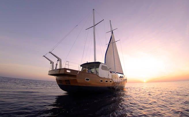 Sunset Cruise in Maldives
