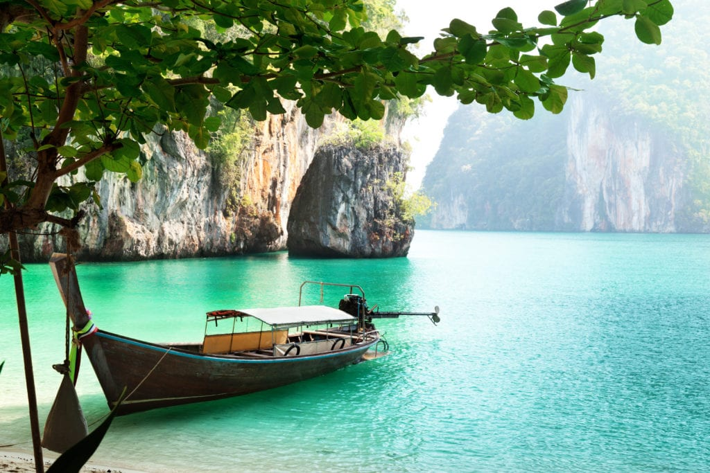 Koh Samiu water in Asia