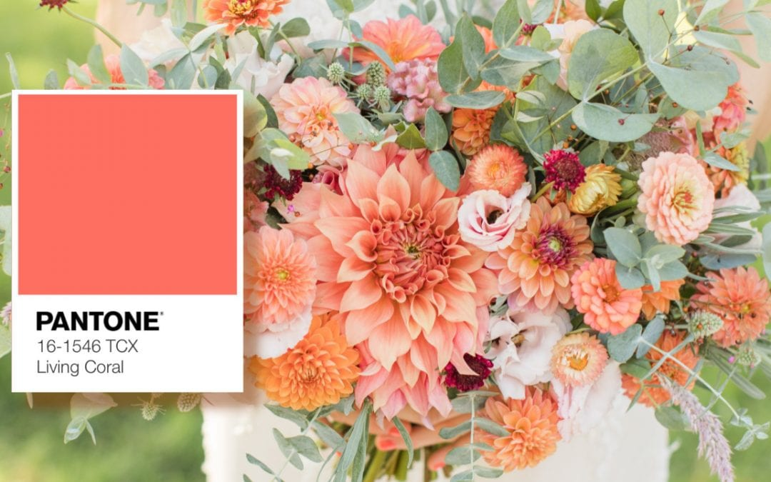 How To Use Pantone's Color Of The Year In Your Destination Wedding
