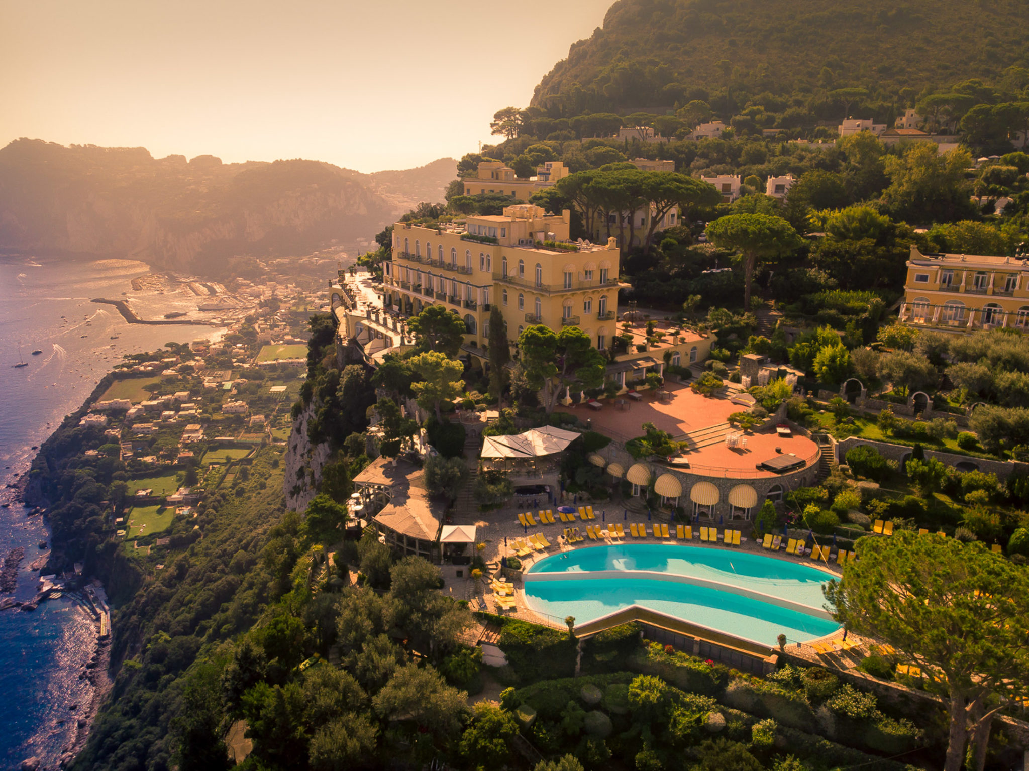 Hotel Caesar Augustus Anacapri Wedding Venue Wedaways