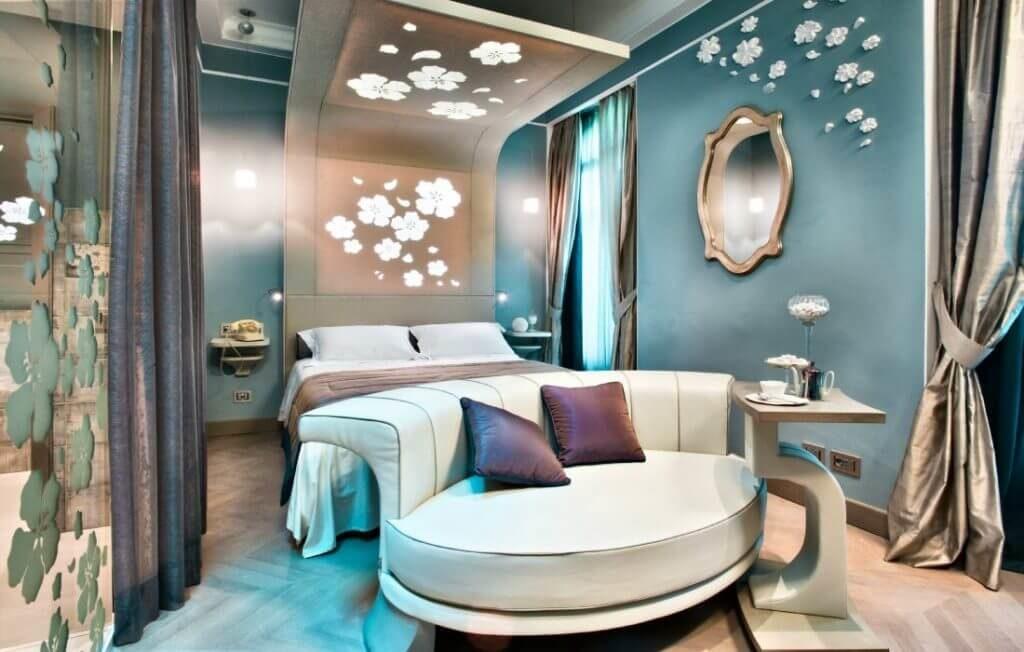 Chateau Monfort Honeymoon Suite in Milan