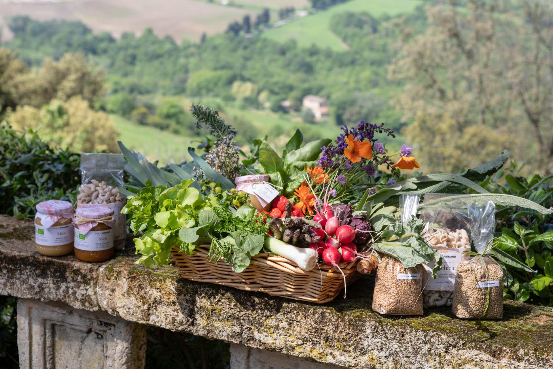 Farm to table fresh