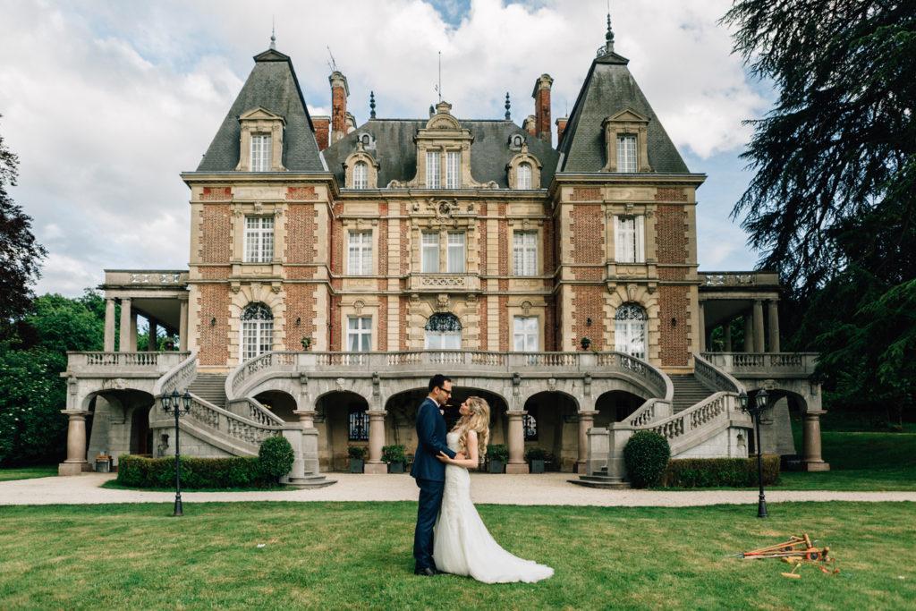 Wedding in a Paris Villa