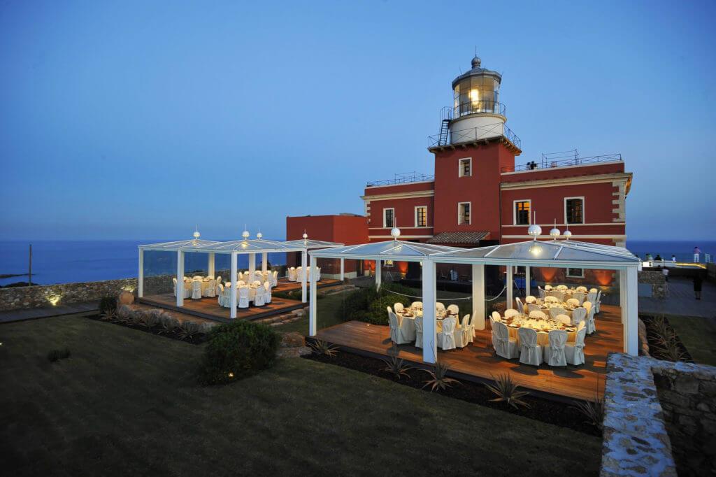 Wedding Reception At A Villa