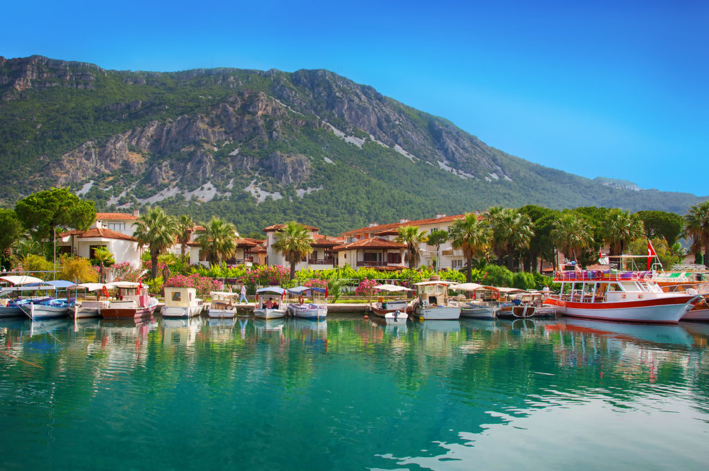 Honeymoon in Marmaris, Turkey