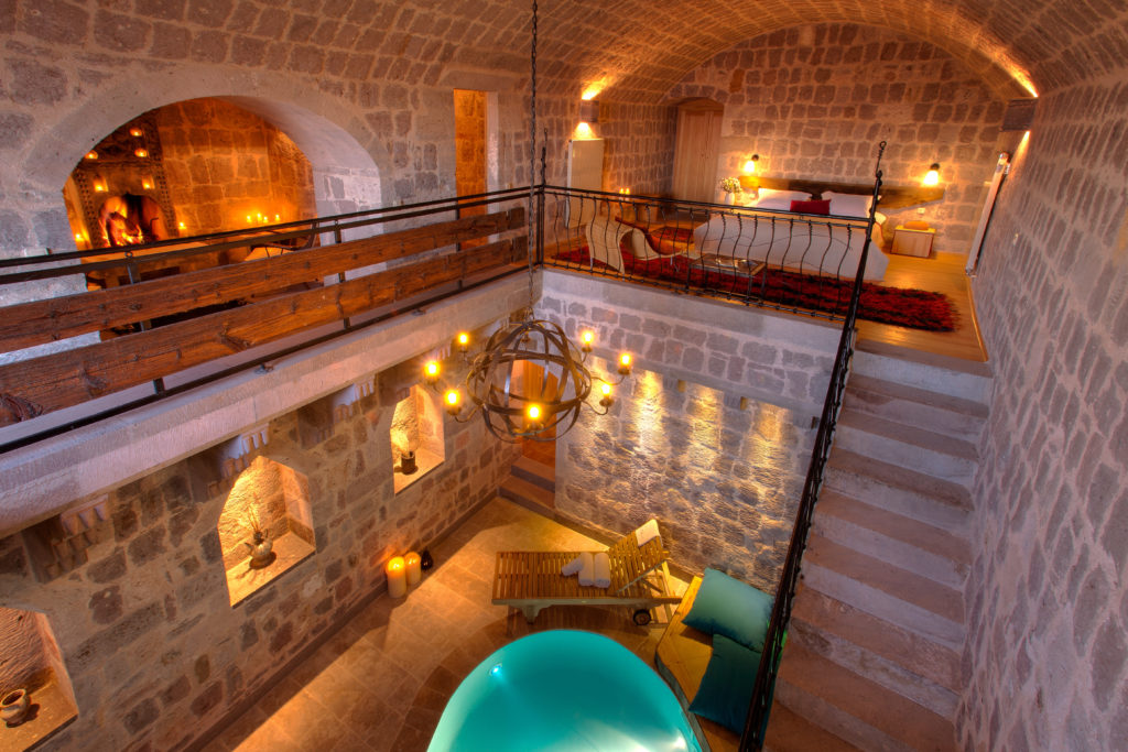Cappadocia Honeymoon Hotel in Turkey