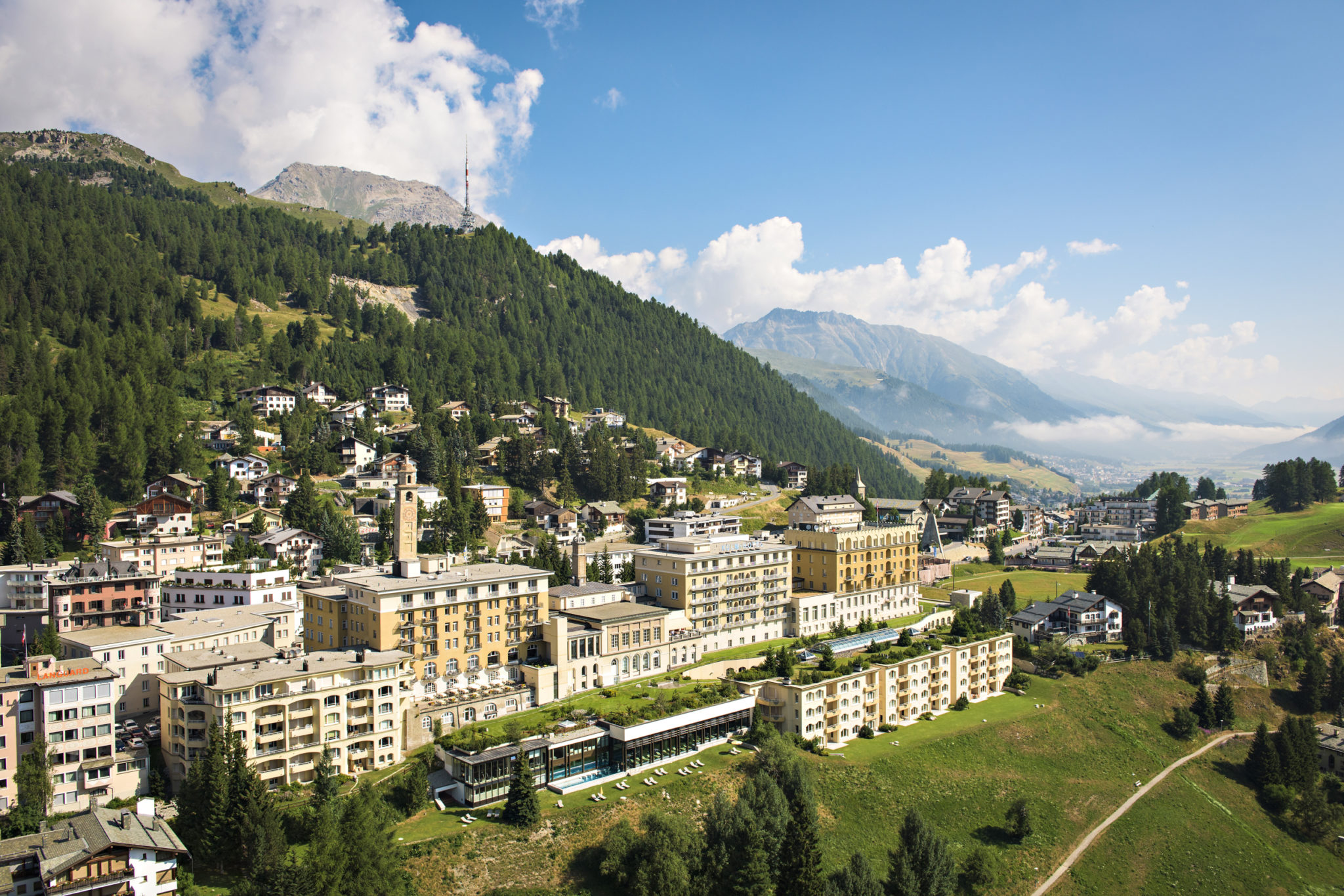 Kulm Hotel, St. Moritz in Switzerland