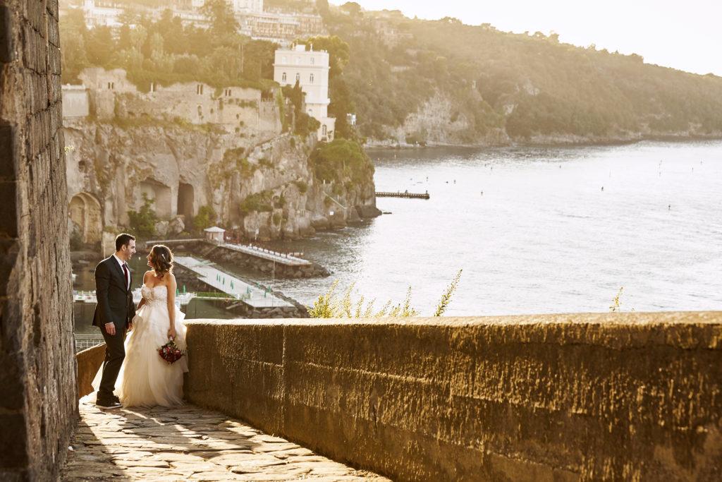 Couple Enjoying Their Destination Wedding