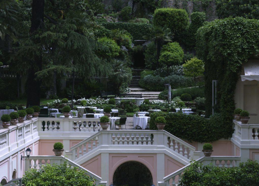 Hotel de Russie in Rome