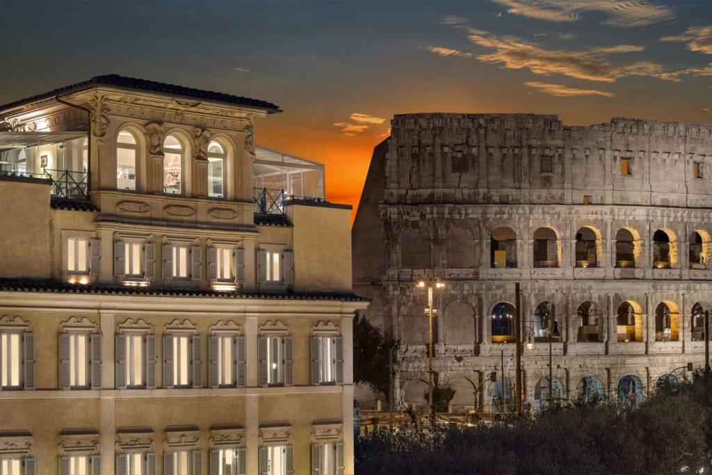 Palazzo Manfredi in Rome