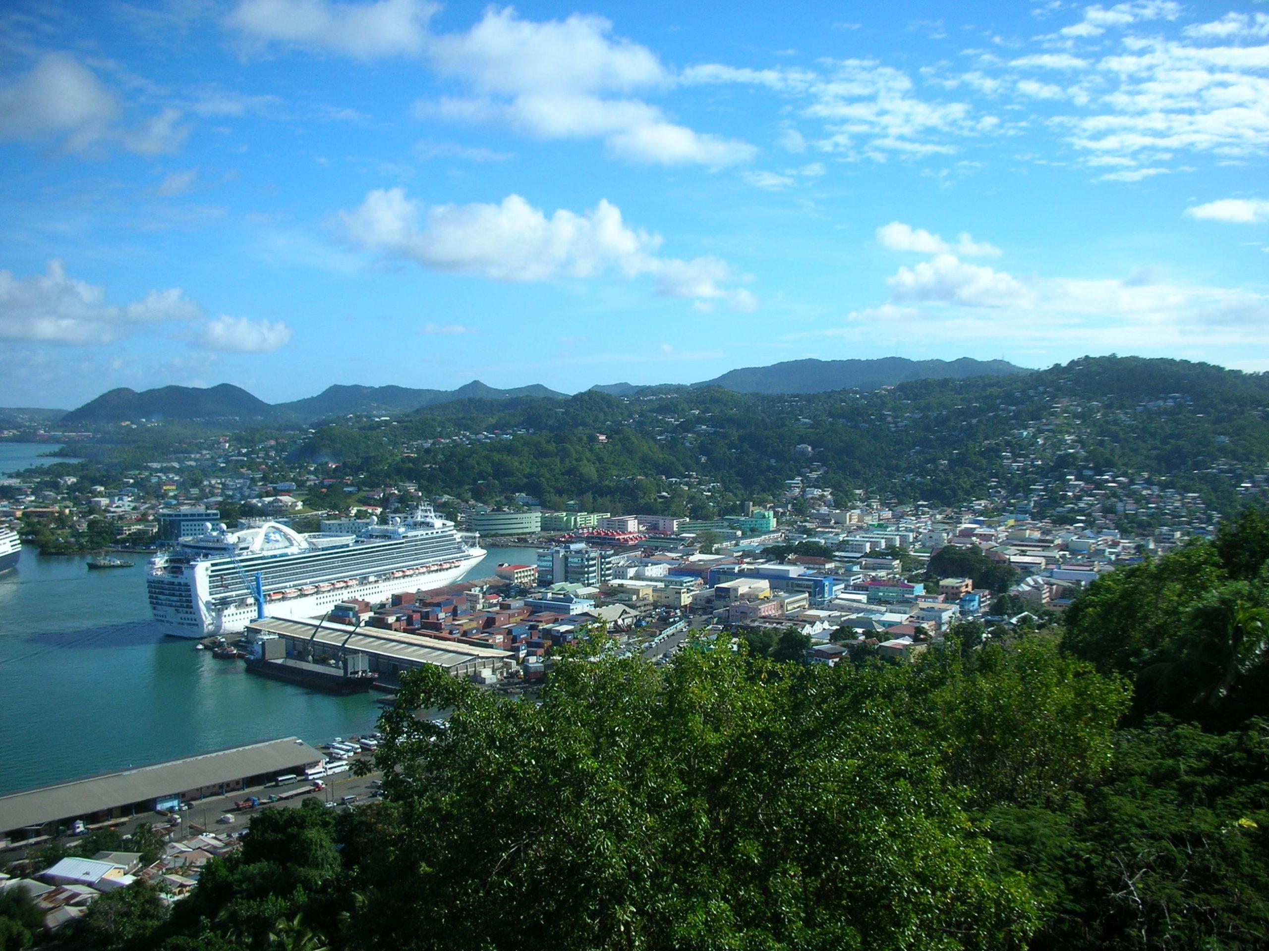 St Lucia Harbor