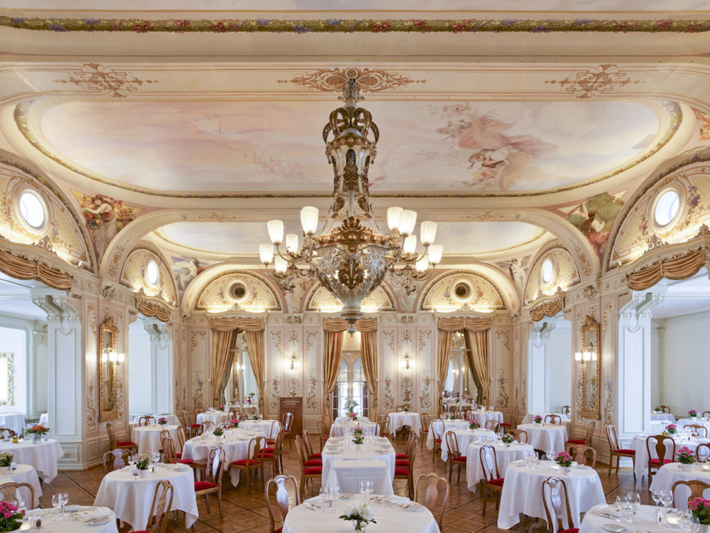 Grand Hotel Kronenhof Wedding Ballroom