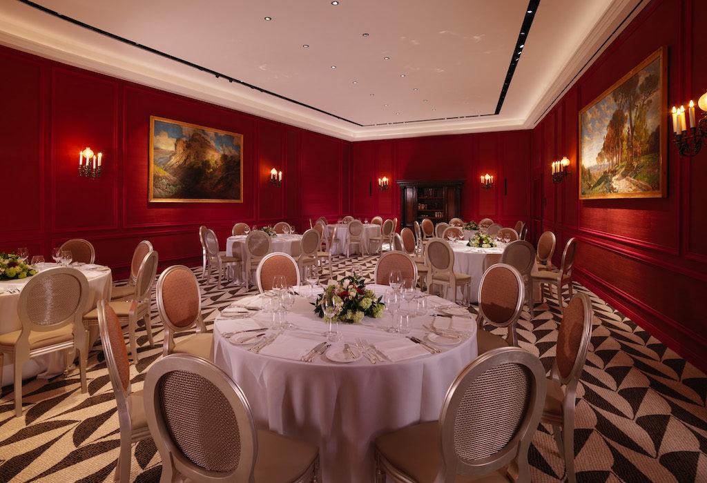 Hotel Eden Rome Wedding Ballroom