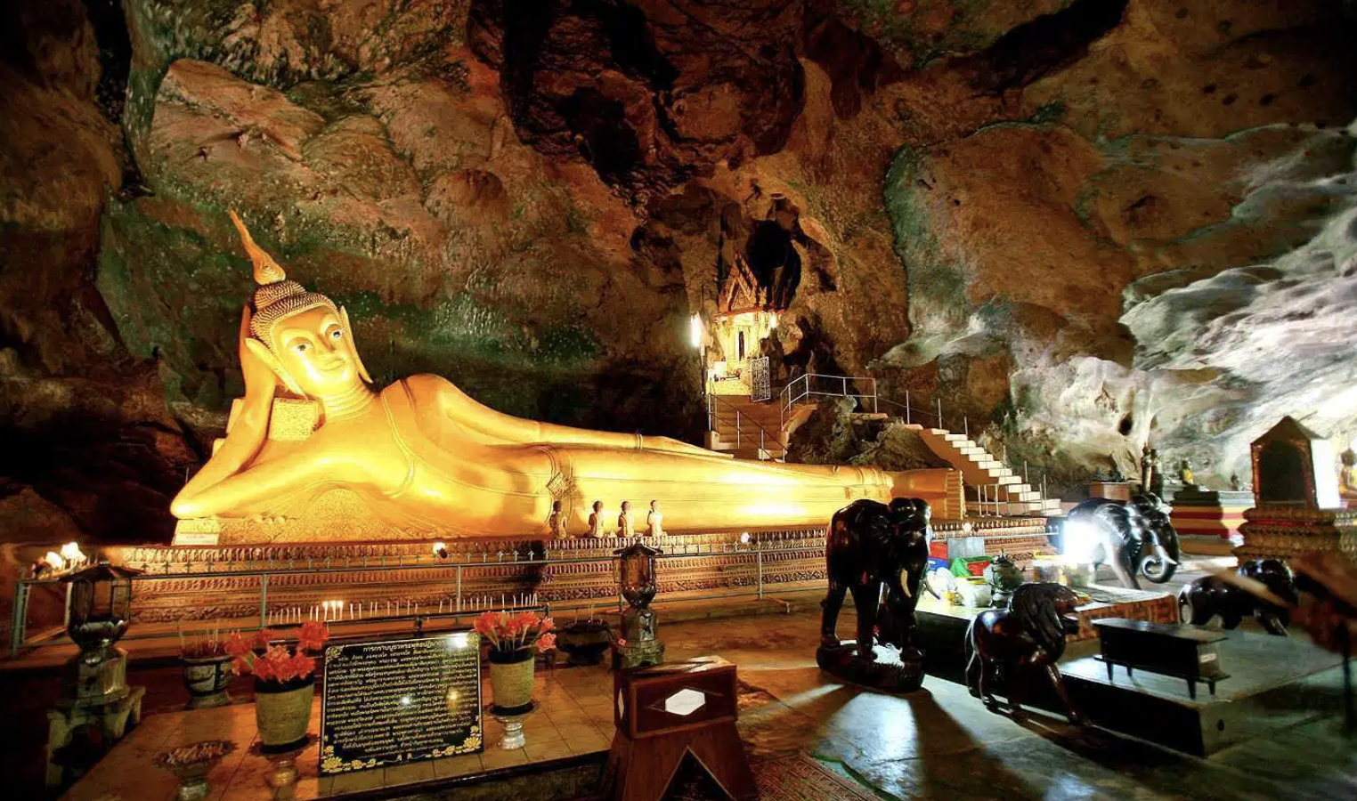 The Cave of the Reclining Buddha