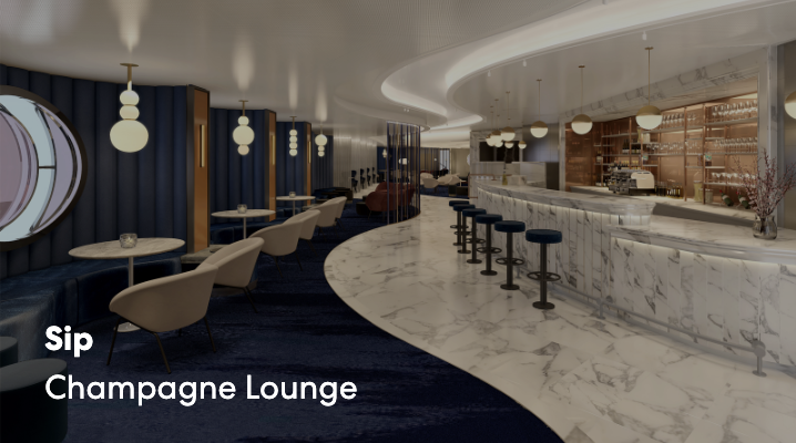 Sip, Champagne Lounge