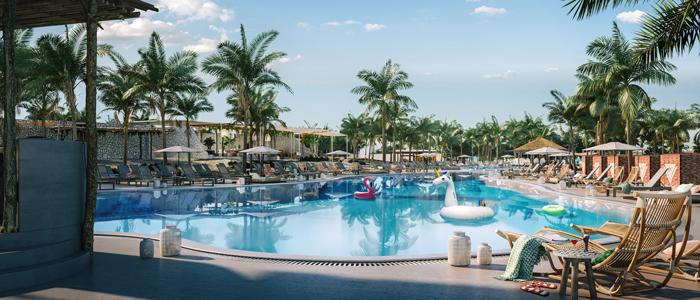 The Beach Club at Bimini, Virgin Voyages Beach Club in the Bahamas