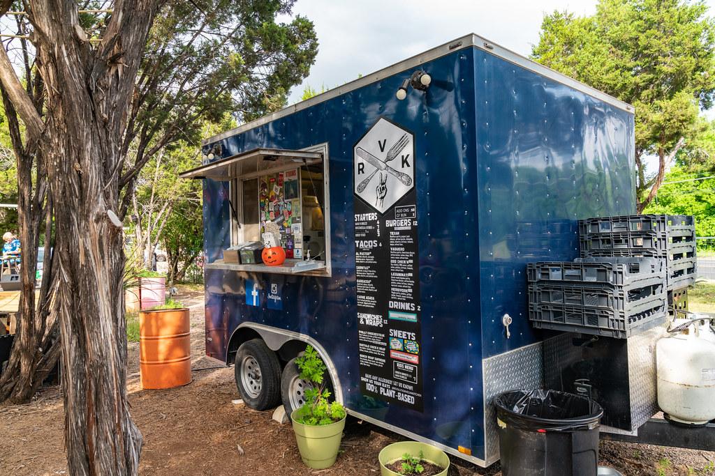 Food truck scene