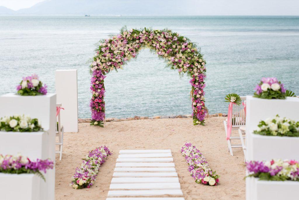 Thailand wedding on the beach