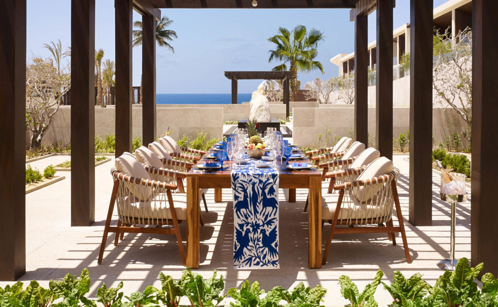 Tablescape by the sea