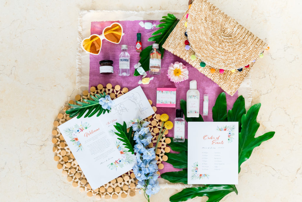 Wedding Welcome Amenity Bag Contents