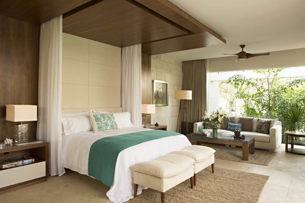 guest room at Mexican resort