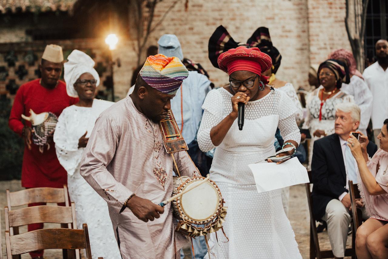 Nigerian ALAGA - wedding emcee