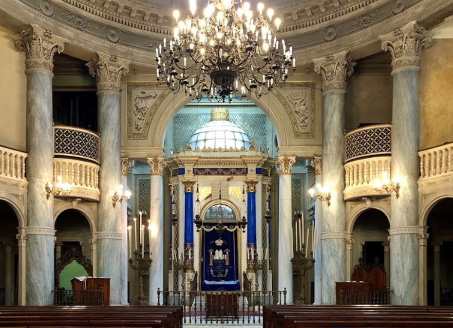 Synagogue of Modena in Italy