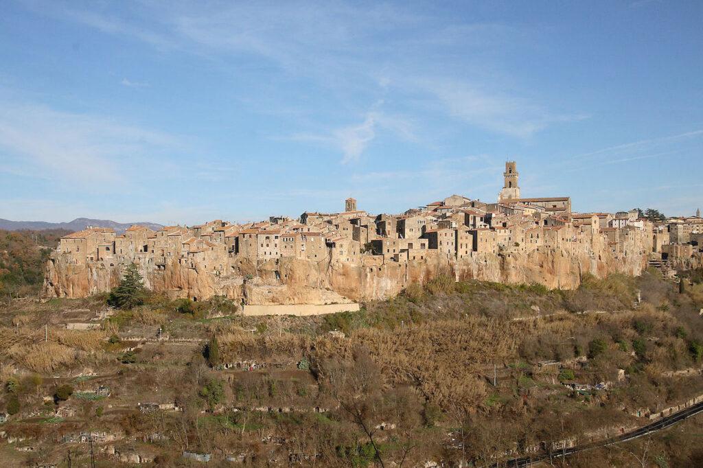 Pitigliano hilltop town in Tuscany