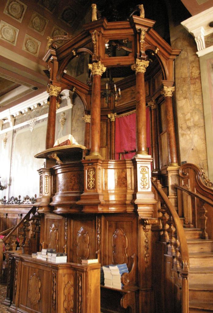 Synagogue of Padova interiors
