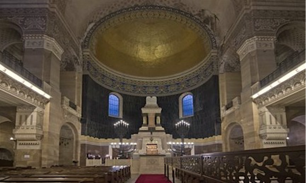 Interiors of Synagogue of Trieste