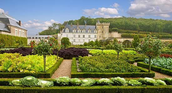 Visit historic Renaissance castles and gardens.