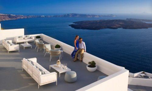 Grace Santorini Champagne Lounge