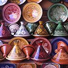 Exploring Marrakech's souks