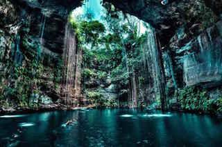 Cenotes (sinkholes)